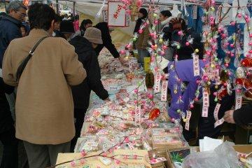 Amekko-ichi Festival candy