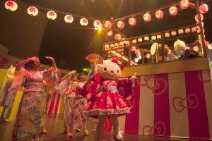 Summer Festival in Sanrio Puroland