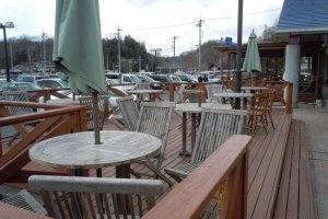 For fairer weather, outdoor seating