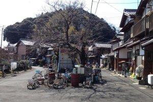 Downtown Okishimacho, Okishima.