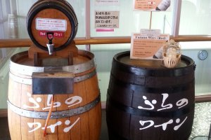 Un établissement viticole de Furano