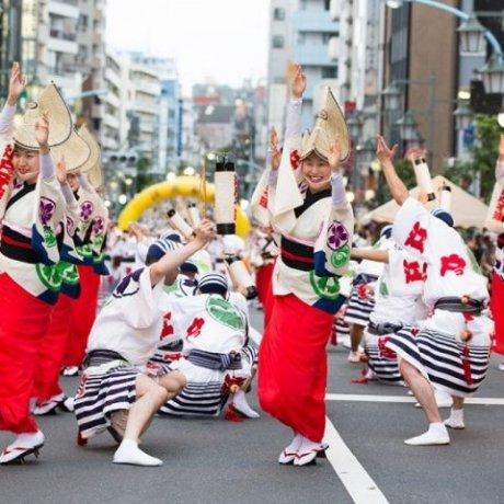 Dance in Tokyo's Koenji Awaodori