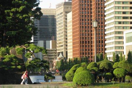 Кольцо в центре Токио