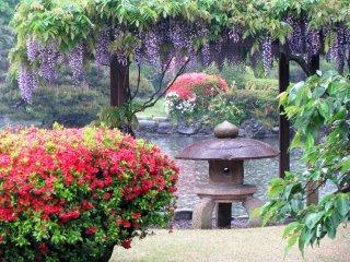 "Станция Синдзюку. Традиционный японский сад ""Синдзюку гоэн"""