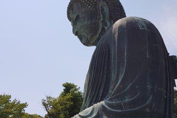 ด้วยความสูง 13.35 เมตร จัดได้ว่าเป็นพระพุทธรูปบรอนซ์ที่สูงเป็นอันดับสองของญี่ปุ่น รองจากหลวงพ่อโตแห่งวัดโทะไดจิ (Todaiji) ในเมืองนารา