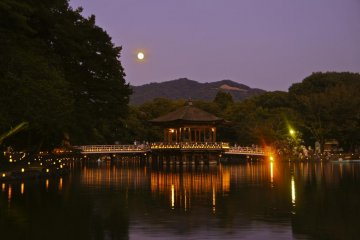 At full moon it's certainly one of the most romantic places I can imagine