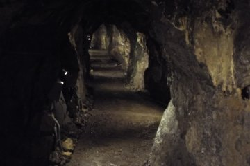 Nippara Shonyudo long corridor