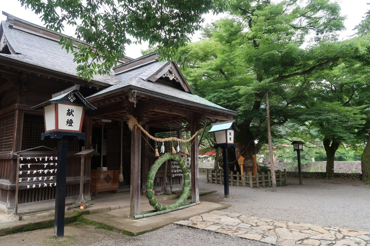 Yasaka Shrine and Wakuguri (Tsuwano, Shimane prefecture)