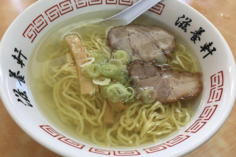 Mì ramen Jiyouken ở Hakodate