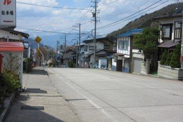 Пустынная улица Юданаки