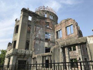 Memorial da Paz de Hiroshima, edifício sobre o qual caiu a bomba