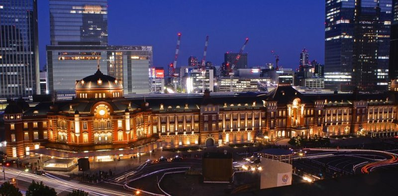 Tokyo Station renovated