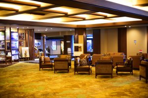Hotel lobby and lounge