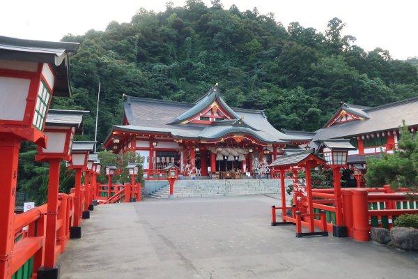 Taikodaniinari Shrine main hall