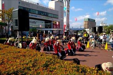 키타카미 미치노쿠 게이노 축제