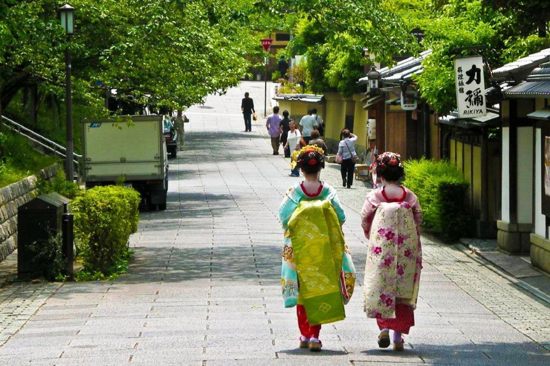 Geisha ở Kyoto