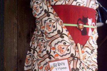 Such splendid kimonos for hire in Kyoto