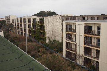 Enjoy climbing to the top of a beautiful abandoned apartment complex, without the danger of trespassing or injury.
