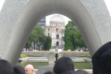 Memorial Cenotaph in Hiroshima