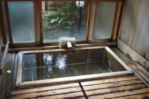 Most of Atami's ryokan have public baths built in