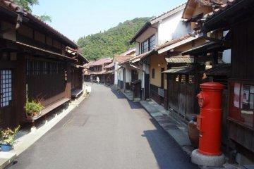 Omori street scene