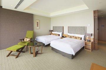 Nippondaira Hotel: Twin Room