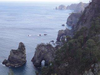 Khung cảnh nhìn từ đỉnh Kitayamazaki