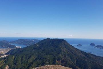 Top of Binshiyama - Ocean View
