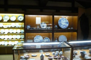 Historic piecees on display