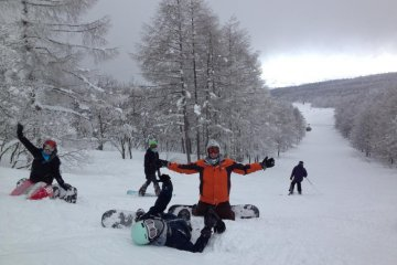 Winter sports are extremely popular in Yamagata, and there are numerous resorts, both large and small, across the prefecture.