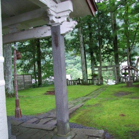 이와사쿠 진자 사원, 니코
