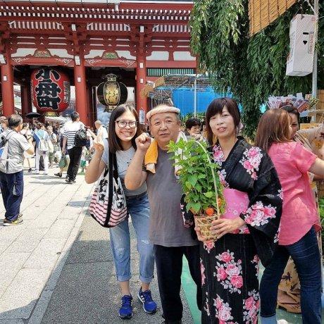 เทศกาลดอกโคมจีนแห่งวัดเซ็นโซะจิ