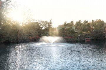 Inokashira Park Pond and Benzaiten shrine