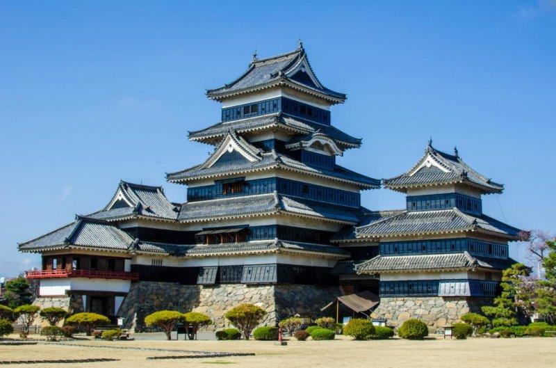 Замок Мацумото в полный размер