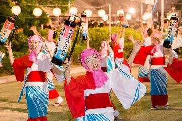 เทศกาล Mihara Yassa