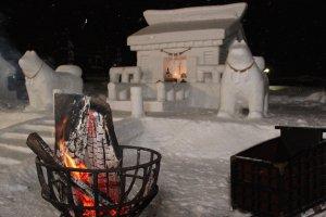 เทศกาล Inukko ในยุสะวะ