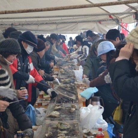 เทศกาลหอยนางรม Anamizu