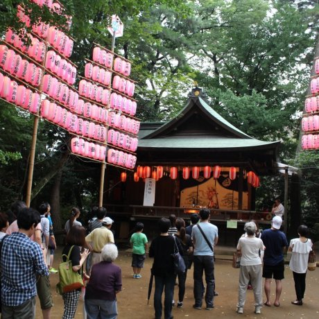 센조쿠이케 가을 축제
