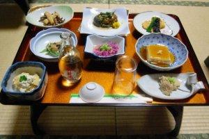 """""""โชะจิน เรียวริ"""" (Shojin ryori) อาหารมังสาวิรัติตำรับเซ็น"""