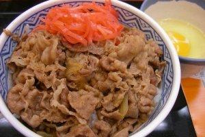 Gyūdon ข้าวหน้าเนื้อ