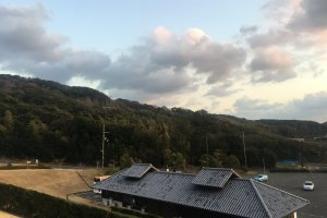View from front of Goshiki Onsen