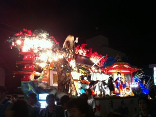 Shinjo Matsuri is a summer festival held in August each year in Shinjo City. Bright floats are paraded through the streets