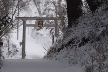 Winter in Yoshinoyama