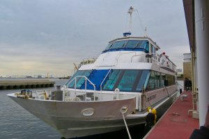 Our cruise vessel