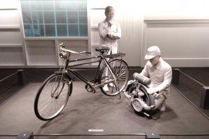 Antes dos automóveis vieram as motorizadas, e antes da motas vieram as bicicletas. O Museu guia-nos pelas diversas etapas da Toyota.