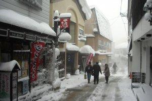Zao Onsen no inverno