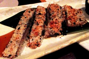 Special crusted fish
