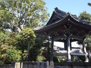 The bell pavilion