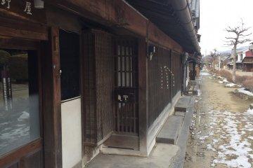 Heavy beam construction and fine woodwork are hallmarks of Unnojuku residences