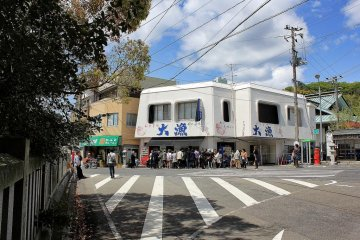 Tairyo Fish Restaurant on Omishima